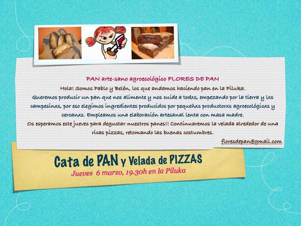 El próximo jueves 6 de marzo a partir de las 19.30, tendremos una velada de pizzas precedidas de una cata de PAN. La idea surge del nuevo proyecto de consumo […]