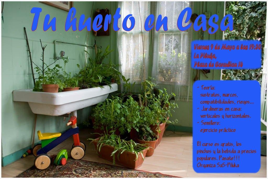 Haz tu propio huerto en el balcón de tu casa. Cultiva tus lechugas, tomates… Aprende a hacer jardineras en espácios mínimos… + Sustratos, marcos, compatibilidades, riegos…. + Jardineras para casa: […]