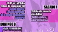VIERNES 6 marzo, 18:00 Mujeres Trabajadoras. Peli+ Charla Película: Ni dios,ni patria ni marido. Luchas de la Mujer Trabajadora (BPL y A. Feminista) En el centro social La Piluka Plaza […]