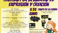 HOLA!!! Este sábado 11 de junio a partir de las 12:00 estaremos en el Parque de la Cebada (metro La Latina). Habrá títeres, charlas y conciertos. Os esperamos!!!