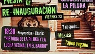 Este viernes 23 de septiembre os invitamos a tod@s a la fiesta de re-inauguración del csa La Piluka con motivo al nuevo formato que le hemos dado al centro social […]