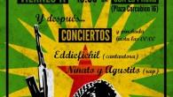 VIERNES 11 de noviembre de 2016 a las 19:00 horas Charla sobre la situación en Kurdistan Sirio +Fiesta con concierto de los raperos Niñato y Agustito y la cantautora Eddiefichil. […]