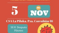 la Asociación de Vecinos La Flor organiza un taller de EcoFeminismo. ¡Participa! En el centro social La Piluka Plaza de Corcubión, 16 Metro: B. del Pilar/Peñagrande Bus: 147, 42, 49, […]