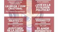 [Actividades Febrero 2017] Tremendo cartel con gran variedad de actividades en La Piluka.