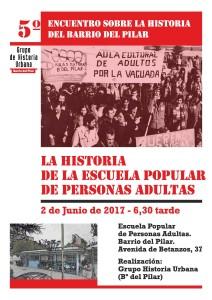 BOCETO CARTEL 5ª JORNADA HISTORIA BARRIO