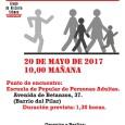 El día 20de mayode 2017 a las 10:00presentamos  Primer paseo urbano por el Barrio del Pilar.  Salimos desde la Escuela Popular de Personas Adultas y la duración será […]