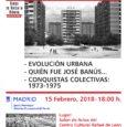 + JUEVES 15 de febrero a las 18:00 nuevo ciclo sobre la historia del Barrio del Pilar Primer encuentro: -Evolución Urbana -Quién fue José Banús… -Conquistas colectivas: 1973-1975 en el […]