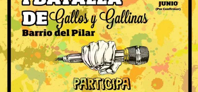 Vecin@s! Desde el C.S.A La Piluka queremos invitaros a la I Batalla de gallinas y gallos del Barrio Del Pilar que se celebra el Viernes 1 de Junio por la […]