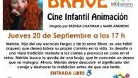 JUEVES 20 de septiembre a las 17:00h Sesión de cine infantil de animación, organizada por la Biblioteca del Centro Comunitario Guatemala y la Asociación Vecinal La Flor, en la calle […]