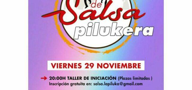 Aprende a bailar salsa en la Piluka: Taller gratuito y después tapas, bebida y a BAILAAR!!! Apúntate ya, plazas limitadas: salsa.lapiluka@gmail.com Ocio digno y popular.