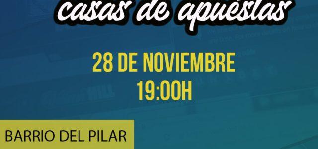 El próximo jueves 28 de noviembre a las 19:00 habrá una cacerolada-manifestación en Barrio del Pilar para denunciar la expansión incrontrolada de las casas de apuestas en los barrios obreros […]