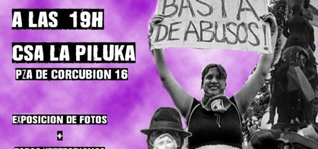 Este JUEVES 28 de noviembre estaremos reflexionando en CSA LA PILUKA sobre Violencia, Poder y Desobediencia Civil Una mirada a las diferentes formas de resistencia de los pueblos frente a […]