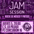 Aprovechando que este jueves es mas bien un juernes, hemos montado una Jam Session en la Piluka a la que no podéis faltar. Si cantáis, leéis poesía, hacéis sonidos curiosos […]