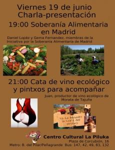 Presentación ISA y cata vino ecológico
